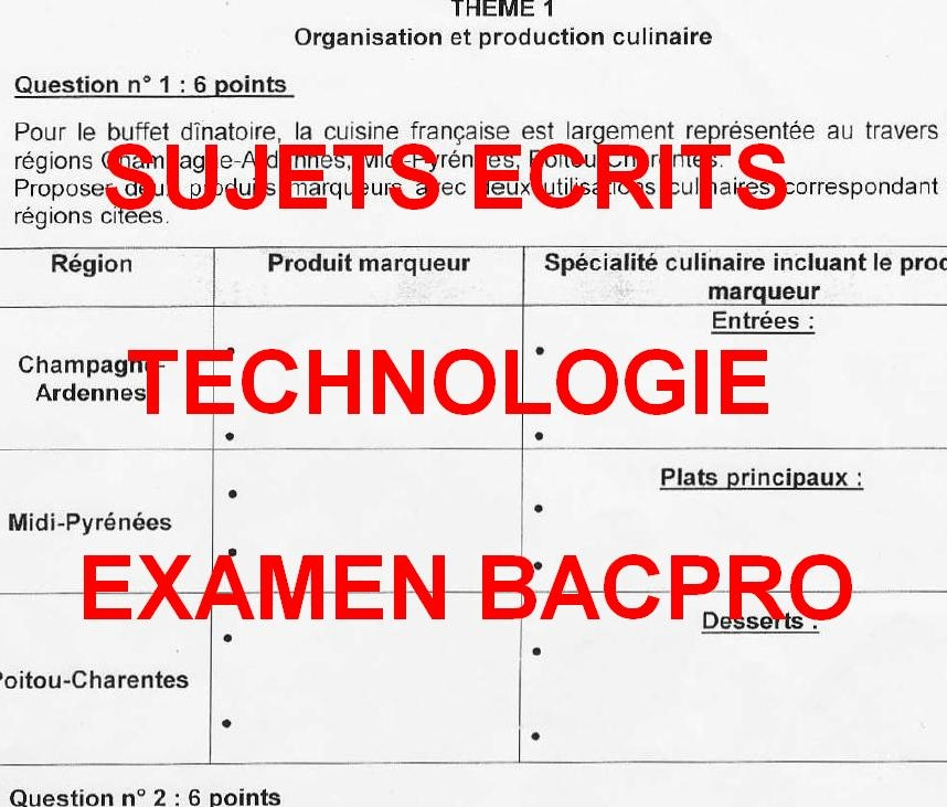 fiche bilan de comp 233 tences bac pro cuisine site d economie et gestion de l acad 233 mie de bordeaux